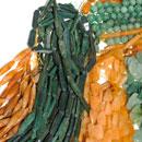 Stränge-Aventurin-gelb-grün