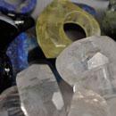 Steinringe-Lapislazuli-Bergkristall-Lemonzitrin